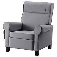 IKEA MUREN (702.990.25) Раскладное кресло, Нордвалла средне-серый