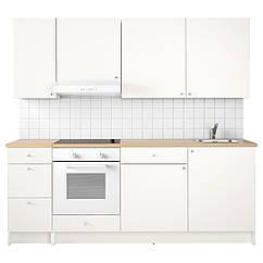 IKEA KNOXHULT ( 491.804.67) Кухня 220x61x220 см