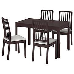 IKEA EKEDALEN / EKEDALEN (692.212.78) Стіл+4 стільці 120/180 см