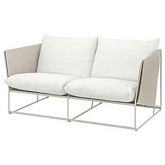 IKEA  HAVSTEN ( 092.519.56) 2-місний диван, кімнатний/вуличний, бежевий 179x94x90 см