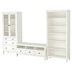 IKEA HEMNES (392.995.65) Комбінація шаф для телевізора 326x197 см