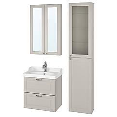 IKEA GODMORGON / RÄTTVIKEN (293.044.83) Меблі для ванної кімнати, набір 5 шт 62 см