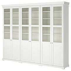 IKEA LIATORP (190.464.42) Комбінація д/зберіган з дверцятами 276x214 см