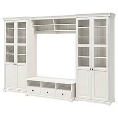 IKEA   LIATORP ( 390.460.64) Комбінація шаф для телевізора