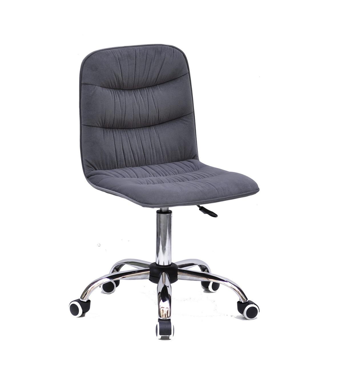 Крісло Split C Office Оксамит, сіре