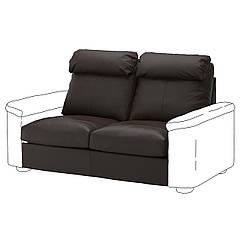 IKEA  LIDHULT ( 192.906.03) Секція 2-місного дивана-ліжка, ГРАНН/БОМСТАД темно-коричневий