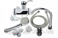 Проточный водонагреватель с боковым креплением и душем, фото 4