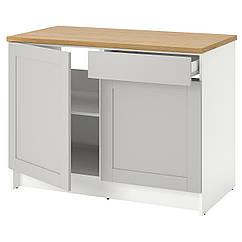 IKEA KNOXHULT (503.267.94) Підлогова шафа, дверцята й шухляда 120 см