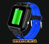 Детские смарт часы Smart Baby watch AISHI DS 60 с Wi-Fi сине - черный цвет +  2 ПОДАРКА. Детские GPS часы, фото 5