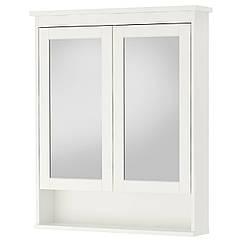 IKEA HEMNES (402.176.77) Шафа дзеркальна із 2 дверцятами 83x16x98 см