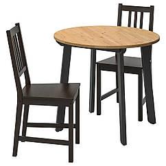 IKEA GAMLARED / STEFAN ( 592.211.65) Стіл+2 стільці 85 см