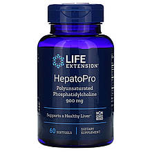 """Фосфатидилхолін для підтримки печінки Life Extension """"HepatoPro"""" 900 мг (60 капсул)"""