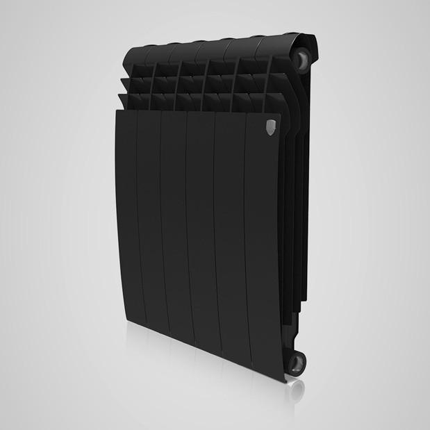 Радіатор біметал BiLiner 500 new 10 секцій/Noir Sable Royal Thermo