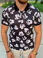 Мужское поло Микки Маус, фото 1