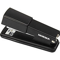 Степлер металевий на скобу 24/6, 26/6 Norma до 20 арк 50 мм чорний 4122