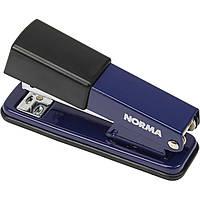 Степлер металевий на скобу 24/6, 26/6 Norma до 20 арк 50 мм синій 4122