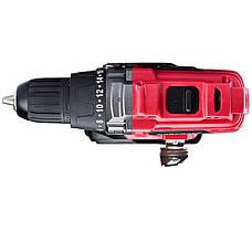 Акумуляторний шуруповерт в кейсі Worcraft CD-S20LiEB з батареєю та зарядним пристроєм, фото 3
