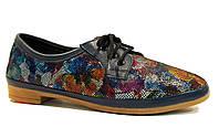 Туфли женские Veritas 03-120 синие