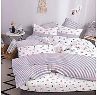 """Комплект постельного белья """"ТЕП"""" двуспальное евро 327 Sea Dream, 70x70"""