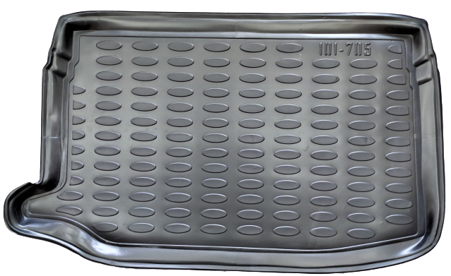 Коврик в багажник OTO KONAK на верхнюю полку  VOLKSWAGEN POLO 2009-2016   705
