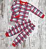 Оптом Детская х/б Пижама для Малышей 4-6 лет, фото 2