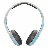Навушники накладні безпровідні з мікрофоном SkullCandy Uproar BT Clear/Scribble/Black (S5URJW-547-PS