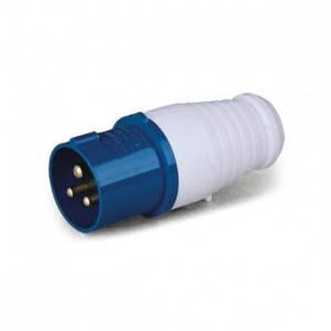 Вилка силова переносна ENERGIO 023 (2P+PE) 32A 220V IP44, фото 2