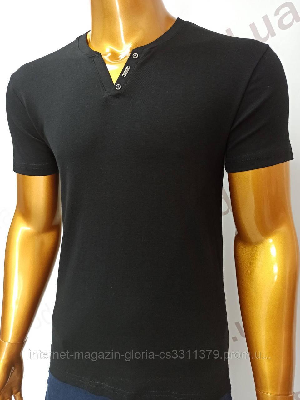 Мужская футболка MSY. 23214-8196(чёрный). Размеры: M,L,XL,XXL.