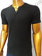 Мужская футболка MSY. 23214-8196(чёрный). Размеры: M,L,XL,XXL., фото 1