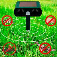 🔝 Ультразвуковой отпугиватель для кротов и грызунов Solar Pest Reppeler Крот HC-9 (прямоугольная голова) | 🎁%🚚