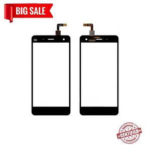 Сенсор (тачскрин) для Xiaomi MI4 черный, фото 2