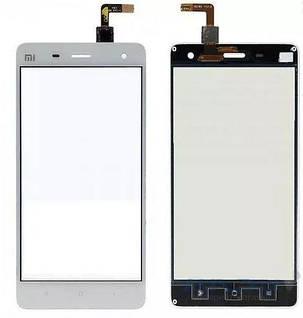 Сенсор (тачскрін) для Xiaomi MI4 білий, фото 2