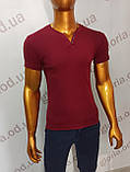 Мужская футболка MSY. 23214-8161(b). Размеры: M,L,XL,XXL., фото 3