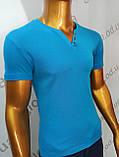 Мужская футболка MSY. 23214-8161(g). Размеры: M,L,XL,XXL., фото 4