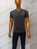 Мужская футболка MSY. 23214-8189(cr). Размеры: M,L,XL,XXL., фото 2