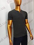 Мужская футболка MSY. 23214-8189(cr). Размеры: M,L,XL,XXL., фото 3