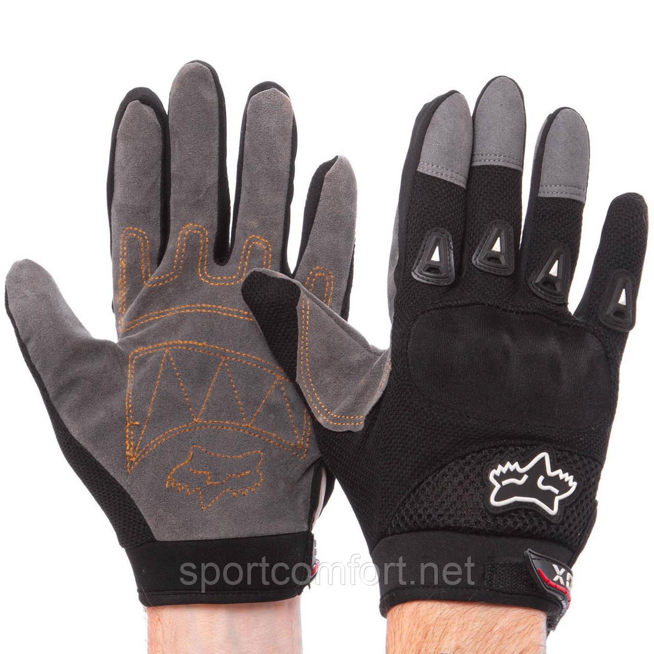 Мотоперчатки Fox текстильные размер L, XL