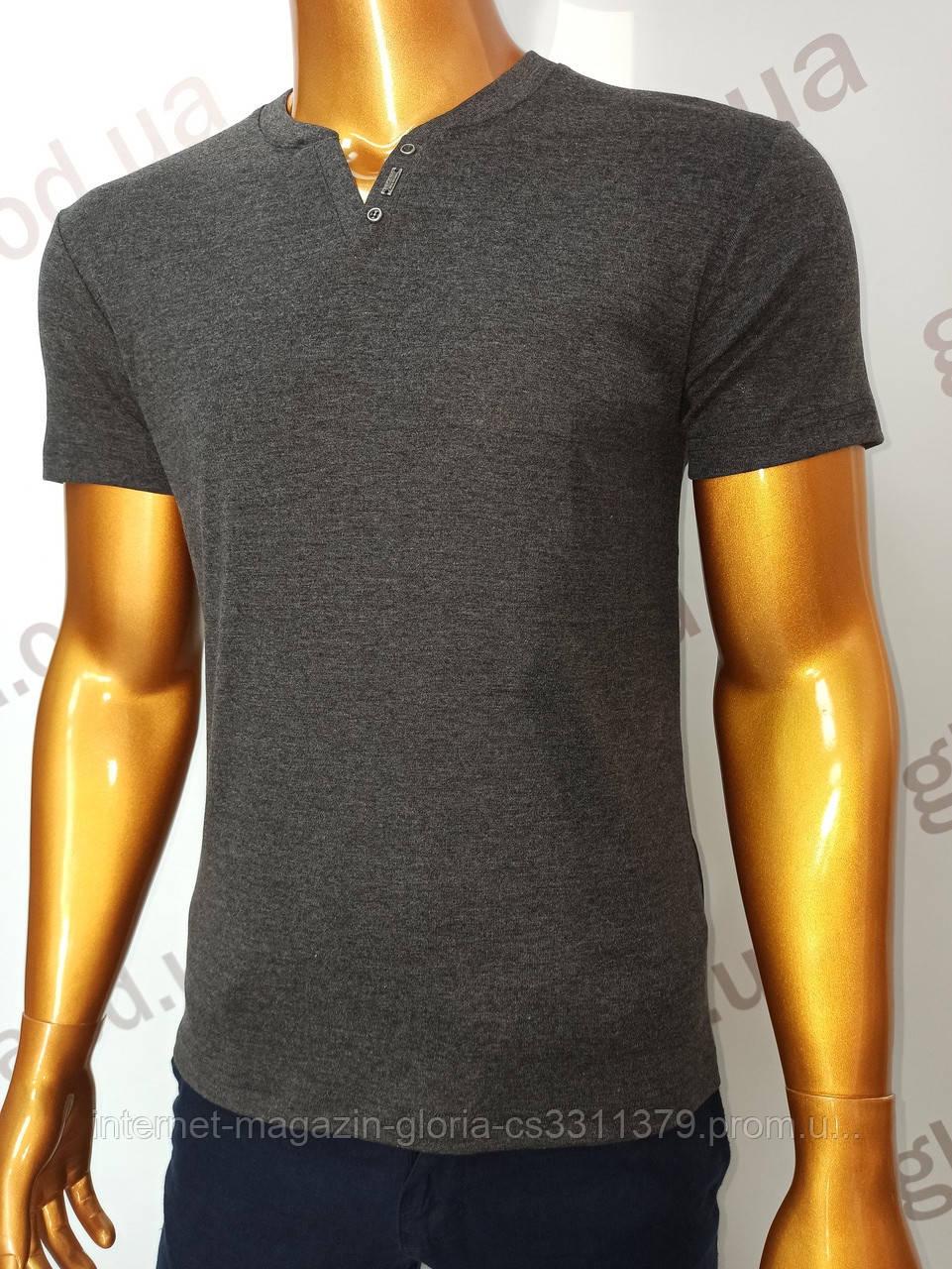 Мужская футболка MSY. 23214-8189(cr). Размеры: M,L,XL,XXL.