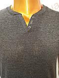 Мужская футболка MSY. 23214-8189(cr). Размеры: M,L,XL,XXL., фото 6