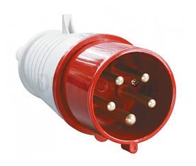 Вилка силова переносна ENERGIO 025 (3P+PE+N) 32A 380V IP44