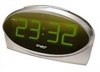 Интерьерные настольные часы с будильником СПЕКТР - КВАРЦ 1232(3)