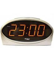 Интерьерные настольные часы с будильником СПЕКТР - КВАРЦ 1232(O)