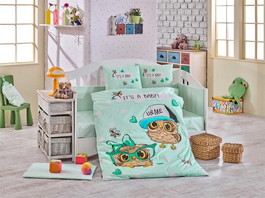 Детский комплект постельного белья  Poplin Cool Baby 100x150 (29375)