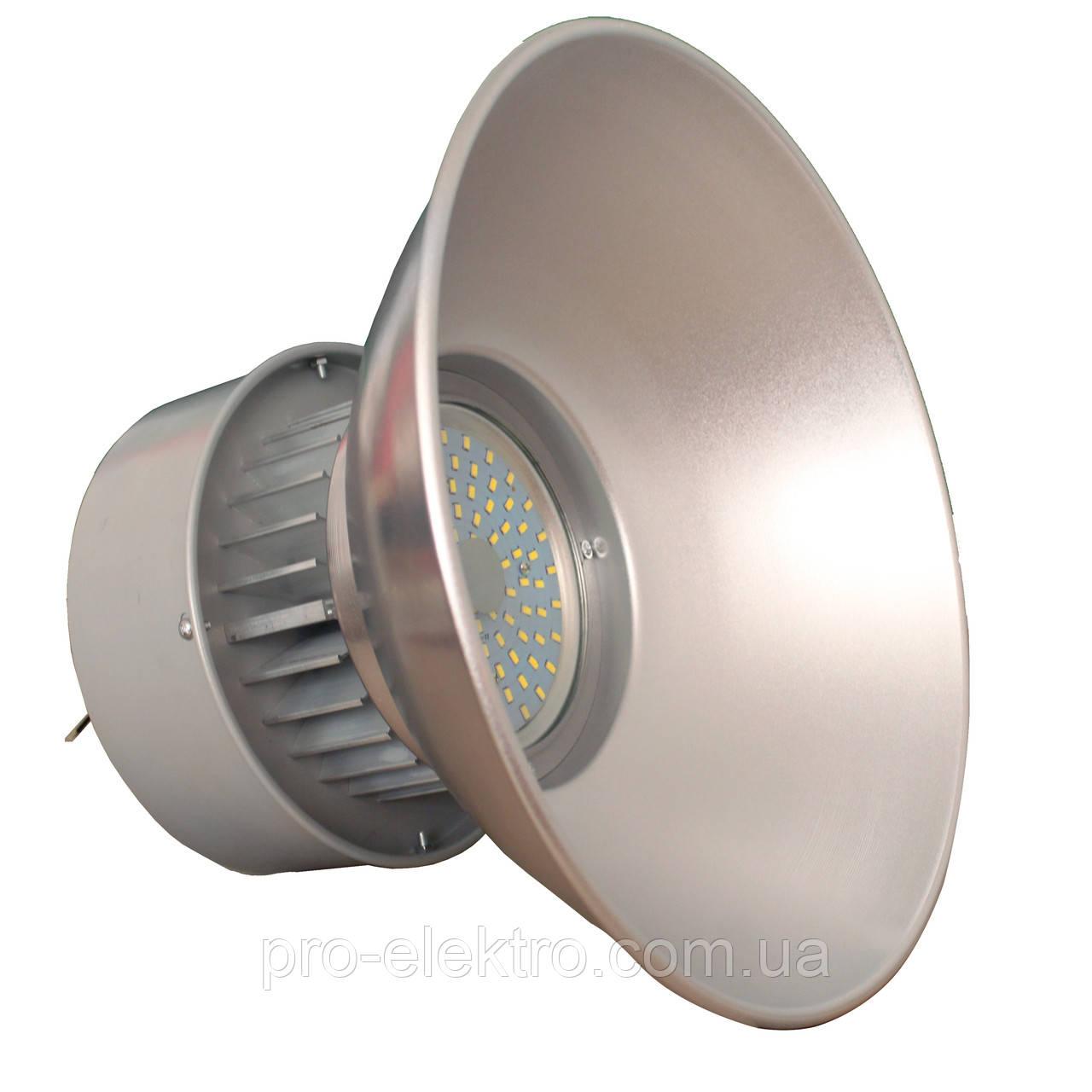 Светильники для высоких пролётов EH-HB-3043 50W Ø39, H:28см 120° 6500K 4500Lm