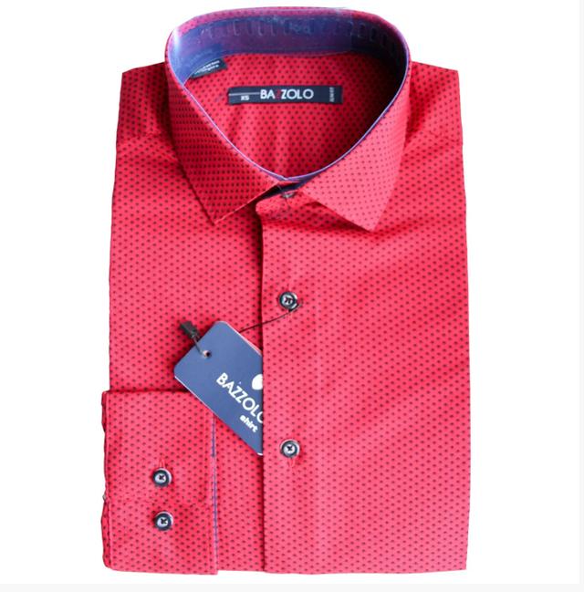 красная рубашка для мальчика подростка