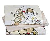 Детский комплект постельного белья  Poplin Snowball 100x150 (29320), фото 2
