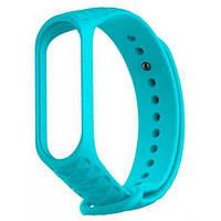 Ремешок для фитнес-браслета Xiaomi Mi Band 3/4 Ribbed Strap Aquamarine