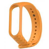 Ремешок для фитнес-браслета Xiaomi Mi Band 3/4 Ribbed Strap Orange