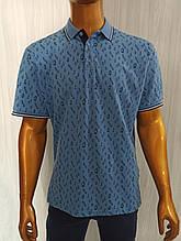 Мужская футболка поло Tony Montana. PSL-3266(g). Размеры: M,L,XL,XXL.