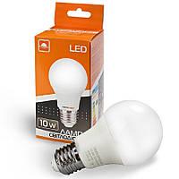 Лампа світлодіодна ЕВРОСВЕТ 10Вт 4200К A-10-4200-27 Е27, фото 1